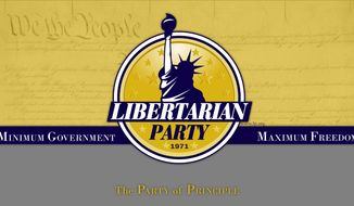 Image courtesy of the Libertarian Party