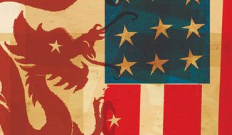 Illustration on U.S. China relations by Donna Grethen/Tribune Content Agency