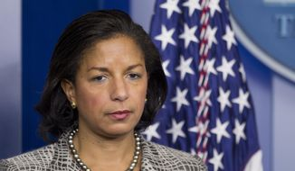 National Security Adviser Susan Rice (Associated Press) **FILE**