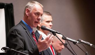 Former Navy SEAL Ryan Zinke, who is running for U.S. Congress, says leading in battle is different from representing his Montana constituents in the state capital of Helena.