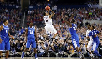 Federal contractor NT Concepts for years ran an online NCAA tournament gambling website, used by both workers of the firm and federal government employees, many of whose email addresses were publicly exposed as a result of the operation. (associated press)