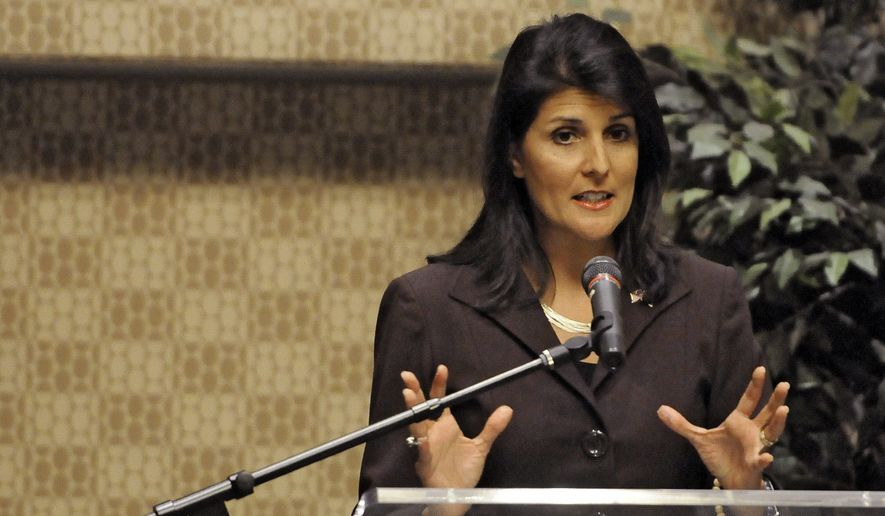 South Carolina Gov Nikki Haley Was The Keynote Speaker At