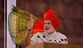 U.S. officials are optimistic that the election of new pro-business Indian Prime Minister Narendra Modi will enhance bilateral trade between the two countries, which have lagged far behind American business transactions with rival China. (associated press)