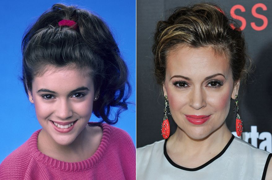 Alyssa Milano is known for portraying Samantha Micelli on the ABC sitcom series Who's the Boss? (1984-92), Jennifer Mancini on the Fox soap opera Melrose Place (1997-98), and Phoebe Halliwell on The WB series Charmed (1998-2006). Since 2013, she has played Savannah Davis in the ABC drama Mistresses. Milano, 41, is married to CAA agent David Bugliari. They have two children: son Milo Thomas and daughter Elizabella Dylan.