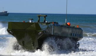 BAE Systems' Amphibious Combat Vehicle, or ACV 1.1 (Image: BAE Systems)