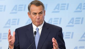 House Speaker John A. Boehner. (AP Photo/Manuel Balce Ceneta)