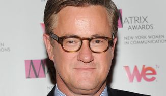 In this April 22, 2013, file photo, Joe Scarborough attends the 2013 Matrix New York Women in Communications Awards in New York. (Photo by Evan Agostini/Invision/AP, File)