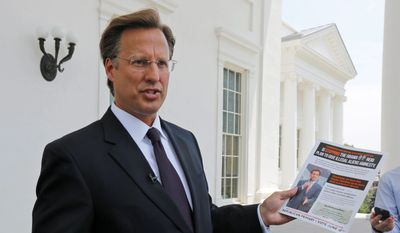 David Brat says he is focusing right now on getting to know Virginia's 7th Congressional District rather than looking ahead to whom he would support as House speaker if he wins election, but he indicated that the economy is a big issue for him. (Associated Press) **FILE**