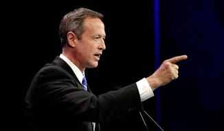 Maryland Gov. Martin O'Malley, as a potential second-tier candidate, needs to ingratiate himself with local political leaders who can arrange meet-and-greets. (Associated Press Photographs)
