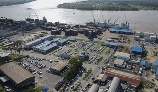 The Port of Paramaribo, a mid-sized facility known locally as Nieuwe Haven, is situated along the Suriname River in the capital of Paramaribo. (Photo: Courtesy N.V. Havenbeheer)