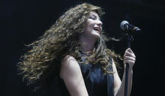 Lorde performs at the Austin City Limits Music Festival on Sunday, Oct. 12, 2014, in Austin, Texas. (Photo by Jack Plunkett/Invision/AP