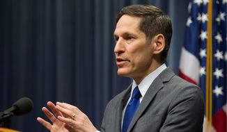 Centers for Disease Control and Prevention Director Dr. Tom Frieden said that it is possible for health care workers to safely treat Ebola patients, but it is hard. In a new move, expert teams will be available to respond within hours to any new Ebola cases around the country. (Associated Press)