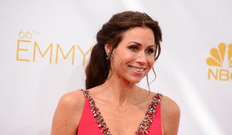 "Acclaimed actress Minnie Driver costars in Lifetime's mini-series ""The Red Tent,"" which a reviewer says, ""takes liberties with several Old Testament characters."" (Photo by Jordan Strauss/Invision/AP, file)"