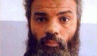 Ahmed Abu Khattala, an alleged leader of the deadly 2012 attacks on Americans in Benghazi, Libya. (AP Photo/File)