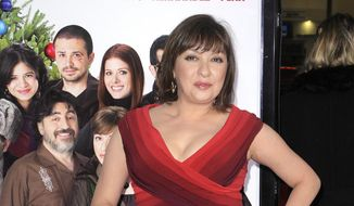"""Elizabeth Pena poses as she arrives for the Los Angeles premiere of """"Nothing Like the Holidays,"""" in this Dec. 3, 2008, file photo, in Los Angeles. Pena, 55, died on Oct. 14, 2014. (AP Photo/Mark J. Terrill, file)"""