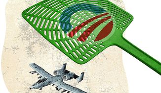 Military Tools on the Chopping Block Illustration by Greg Groesch/The Washington Times