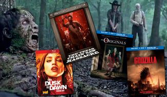 Just in time for Halloween, Walking Dead: The Complete Fourth Season, From Dusk to Dawn: Season One, Godzilla, The Originals: The Complete First Season and The Texas Chainsaw Massacre: 40th Anniversary Collector's Edition are available in the Blu-ray format.