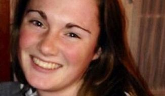 Searchers found human remains on Saturday that could be those of the University of Virginia sophomore Hannah Elizabeth Graham, who has been missing since Sept. 13, police said.  (AP Photo/Charlottesville, Va., Police Department, File)