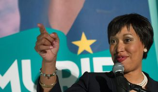 Council member Muriel Bowser has pulled ahead in the D.C. mayor's race, widening her lead to the double digits as voters settle on a candidate ahead of Nov. 4. (Associated Press)