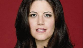 Monica Lewinsky has emerged as a columnist, public speaker and a social media wrangler who attracted 34,000 followers upon registering with Twitter on Monday. (Associated Press)