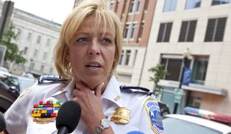 D.C. Police Chief Cathy Lanier (Associated Press)