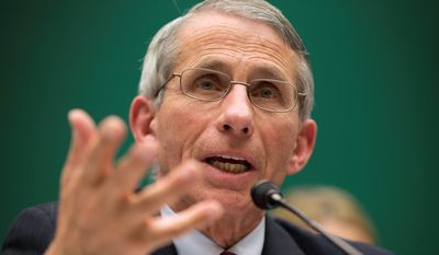 "Homefront: ""The best way to stop this epidemic is to help the people in West Africa,"" says Dr. Anthony Fauci, who is concerned about making it difficult for volunteers. (Associated Press)"