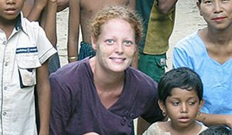 "Kaci Hickox, a health care worker who returned from fighting Ebola in West Africa, wrote a scathing review of ""inhumane"" treatment by inspectors at Newark Liberty International Airport and her ongoing quarantine. Ms. Hickox is the first traveler quarantined under new guidelines established in New Jersey and New York. (University of Texas at Arlington via Associated Press)"