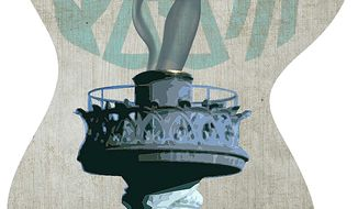 IRS Extinguishes Liberty Torch Illustration by Greg Groesch/The Washington Times