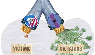 Corrupt Foreign Policy Illustration by Greg Groesch/The Washington Times