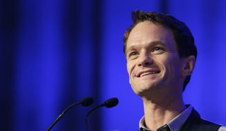 Actor Neil Patrick Harris speaks at Book Expo America in New York in this May 29, 2014, file photo. On Tuesday, Oct. 28, 2014, NBC announced that the network is bringing Harris back to series television as host of a comedy-variety series. (AP Photo/Mark Lennihan, File)