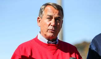 Speaker of the House John Boehner, R-Ohio. (AP Photo/The Herald-Dispatch, Sholten Singer)