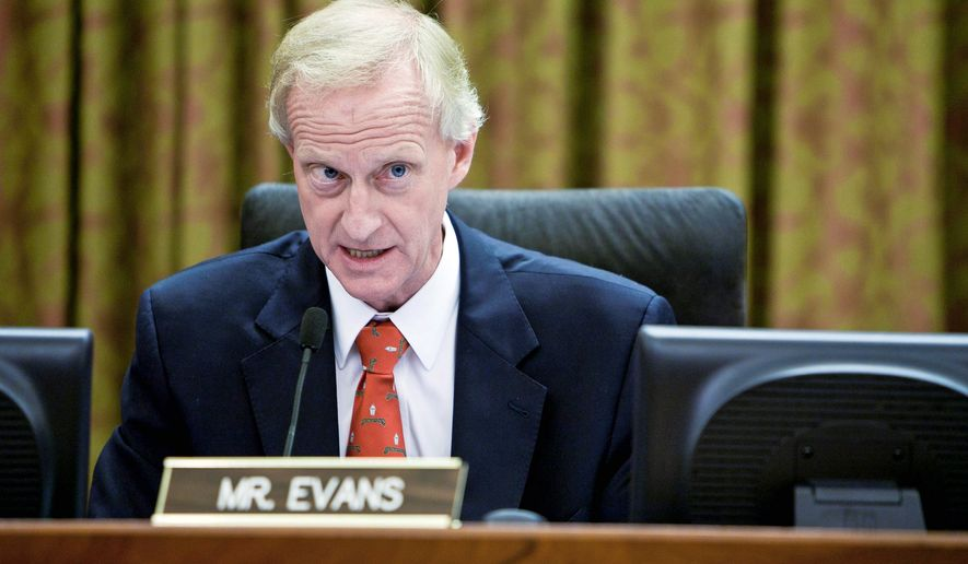 Councilman Jack Evans, Ward 1 Democrat, said he hopes voters Tuesday pass a measure to legalize marijuana in the District. Should that happen, the D.C. Council will be in the position of taxing and regulating the substance. (Associated Press)