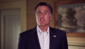 Former Republican presidential nominee Mitt Romney appeared in a new campaign ad for U.S. Senate candidate Scott Brown, telling New Hampshire voters that a vote for Democratic Sen. Jeanne Shaheen is a vote for President Obama. (YouTube)