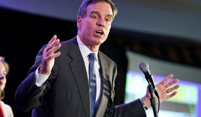 Sen. Mark Warner, Virginia Democrat, remains locked in a dead heat with Republican Ed Gillespie a full day after the polls closed. (Associated Press)