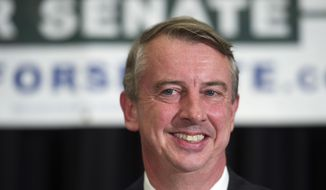 Virginia Republican Senate candidate Ed Gillespie. (AP Photo/Cliff Owen)