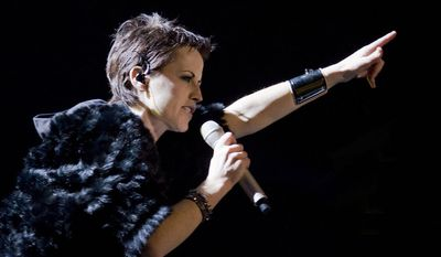 Cranberries singer Dolores O'Riordan was arrested Monday for allegedly causing a disturbance onboard an Aer Lingus flight from New York City to Shannon, Ireland. (Wikipedia)
