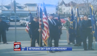 Wisconsin veterans group Patriotic Council canceled its long-running Veterans Day program at Eau Claire area schools after facing objections over its 21-gun salute. (WEAU)