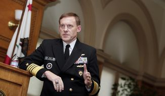 National Security Agency director Mike Rogers  (AP Photo/Marcio Jose Sanchez)