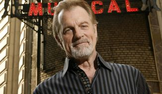 This July 1, 2008, file photo shows actor Stephen Collins posing for a picture outside of the Shubert Theatre in New York. (AP Photo/Seth Wenig, File) ** FILE **