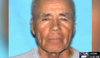 Police are searching for a man responsible for brutally beating Santos Castro, a 76-year-old Navy veteran with dementia, to death in Los Angeles. (KTLA)