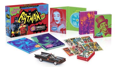 Batman: The Complete Television Series – Limited Edition arrives in the Blu-ray format. (Courtesy of Warner Home Video)