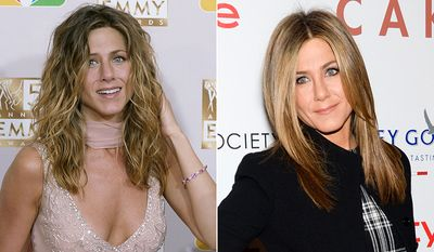 """Jennifer Aniston was only 24 when she was cast as  in the hit sitcom """"Friends,"""" at 45 she looks as flawless as ever."""