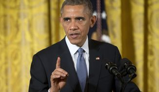 President Barack Obama speaks at the 'ConnectED to the Future', in the East Room of the White House in Washington, Wednesday, Nov. 19, 2014.  The president will travel to Las Vegas Friday, a Democratic official said, heightening anticipation that he will announce executive orders on immigration this week. The president is expected to take administrative steps to protect as many as 5 million people in the country illegally from deportation, and grant them work permits. Republicans are vehemently opposed to the president's likely actions, with some conservative members threatening to pursue a government shutdown if Obama follows through on his promises to act on immigration before the end of the year. (AP Photo/Pablo Martinez Monsivais)