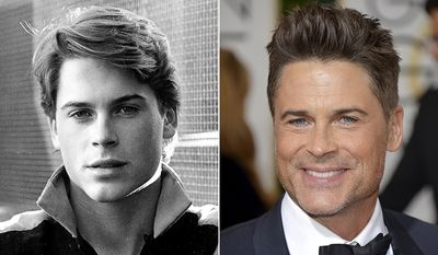 Rob Lowe was a member of the 'Brat Pack' in the 80's. He's still a prominent name in Hollywood at age 50.