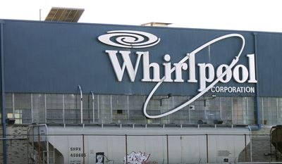 The Whirlpool Corp. is seen at 6400 Jenny Lind Road in Fort Smith, Ark., in this Dec. 29, 2011, file photo. (AP Photo/The Southwest Times Record, Carrol Copeland, File)