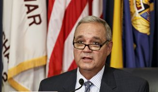 "Rep. Jeff Miller, Florida Republican and chairman of the House Veterans' Affairs Committee said the agency has a ""horrible track record"" in managing major construction projects. (Associated Press)"