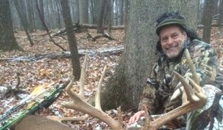 Ted Nugent posted this photo on his Facebook account on Nov. 26 of a deer he shot with a bow and arrow.