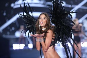 Secret's out: Victoria's angels on the runway