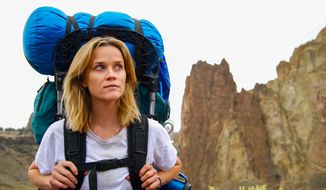 "This image released by Fox Searchlight Pictures shows Reese Witherspoon in a scene from the film, ""Wild."" (AP Photo/Fox Searchlight Pictures, Anne Marie Fox)"