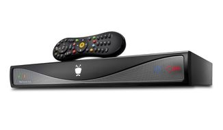 FILE - This file product image provided by TiVo, Inc., shows the Roamio Plus and remote. (AP Photo/TiVo, Inc).